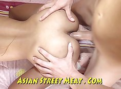 Asian Puts A Hole In Her Ass And Sucks What Guy Anal Shes