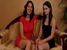 Young and tired milf lesbo fun