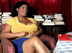 Big titted black hottie with fat boobs rides white guys penis with passion