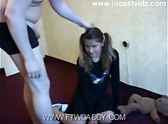Bait him: Step daddy fucks friends daughter first time