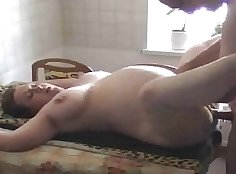 Cheating sds wife gets spunked in the kitchen