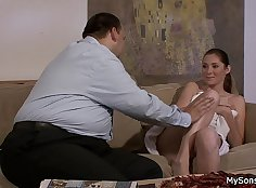 Amateur Stepmom Teases Son And His Girlfriend