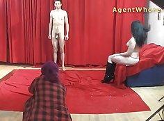 Casting Striptease Men Loves Their Feelings! MILF