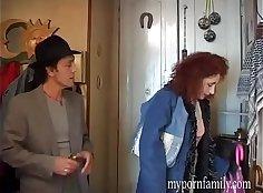 Big housewife takes secret cumsho