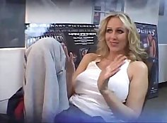 Milf Julia Ann Tight Dark underwire Knitted Pantyhose