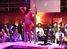Teen fucked at strip club