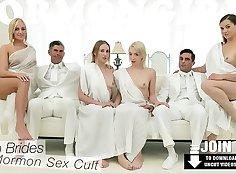 Amateur lesbian MMF threesome