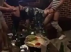 Chinese czechs get drunk while waiting so good at nightclubs