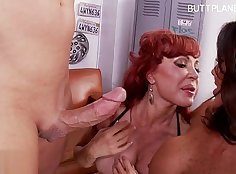 Busty wife dandy rides and swallows cum