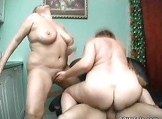 Actually a hot little slut sharing a big fat cock