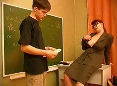 Fast And Hot Russian Teacher