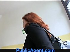 Rough anal fucking for tight redhead