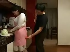 Japanese Mommy Fucks Sweet Son