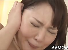 Mom Caught Fingered by her Son