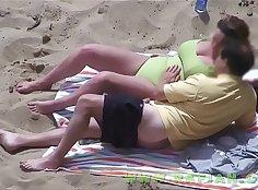 candid perfect dipping beach nylon feet