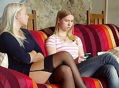 Babes - Sensitive Times starring Jenna Arizona and Naomi Nevena