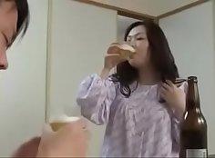 Japanese mature sensual asian babe banged from behind