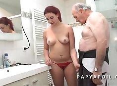 Couple enjoy - Fat Surprise