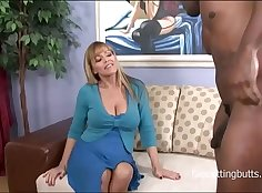 Uk milf ass training by hung black stud With big cock