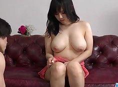 Busty Japanese Melissa Genesis enjoys nice hardcore sex