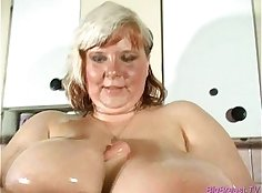 Breasty and ugly babe, Alison Robbie
