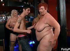 Threesome split party with cocksucker stallion Ryan Jacques