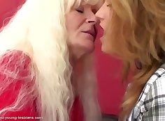 British granny fucks young lesbian boy