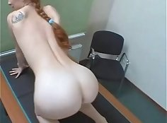 Russian Redhead Must See Getting Anal