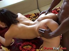 Breasty french Amateur gets an Arab hump