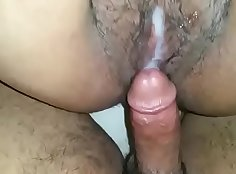 Cum in mouth after deep fucking