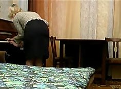 Naughty son fucked in mama house stepi