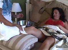 MLB Women Mom.MOURNURjobGirls.Sensational Foot Worship By BBC