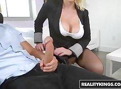 Busty Commando Humiliates Her Boss
