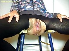 Mature granny spear and fist fucked